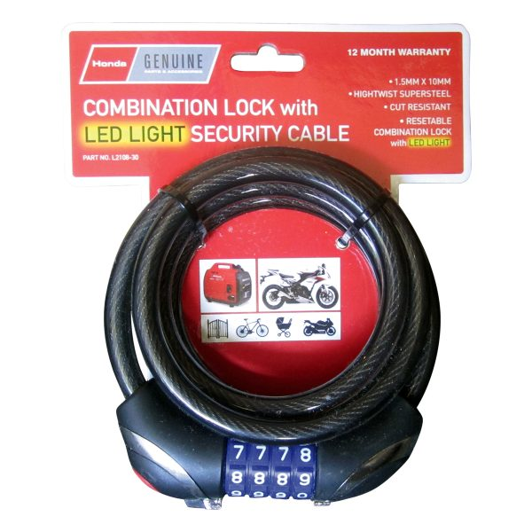 Honda Security Cable