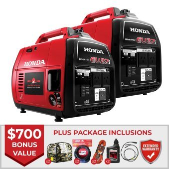 Honda EU22i Generator Twin Buy Deal